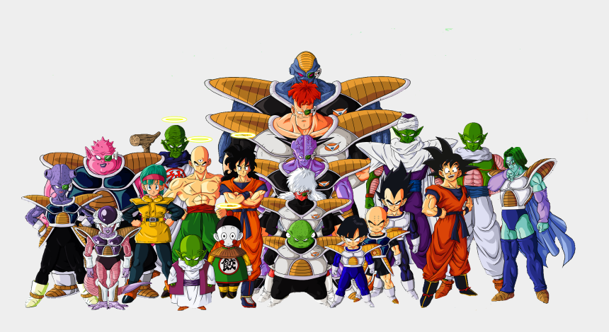 dragon ball z clipart, Cartoons - Dragon Ball Z Characters Png File - Dragon Ball Z Png