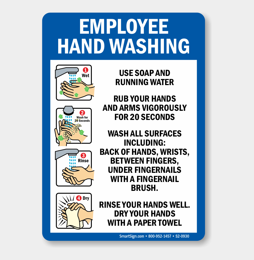 wash your hands clipart, Cartoons - Zoom, Price, Buy - Hand Washing Sign