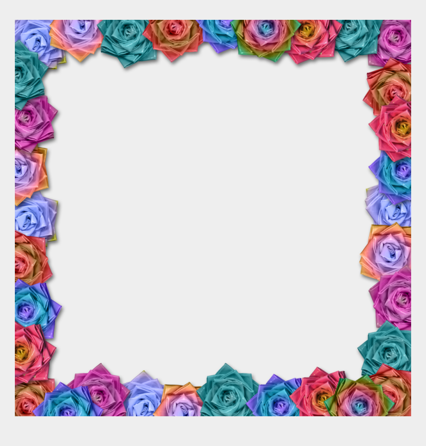 mexican flower clipart, Cartoons - Mexican Flowers Border Png - Hd Border Design Hd