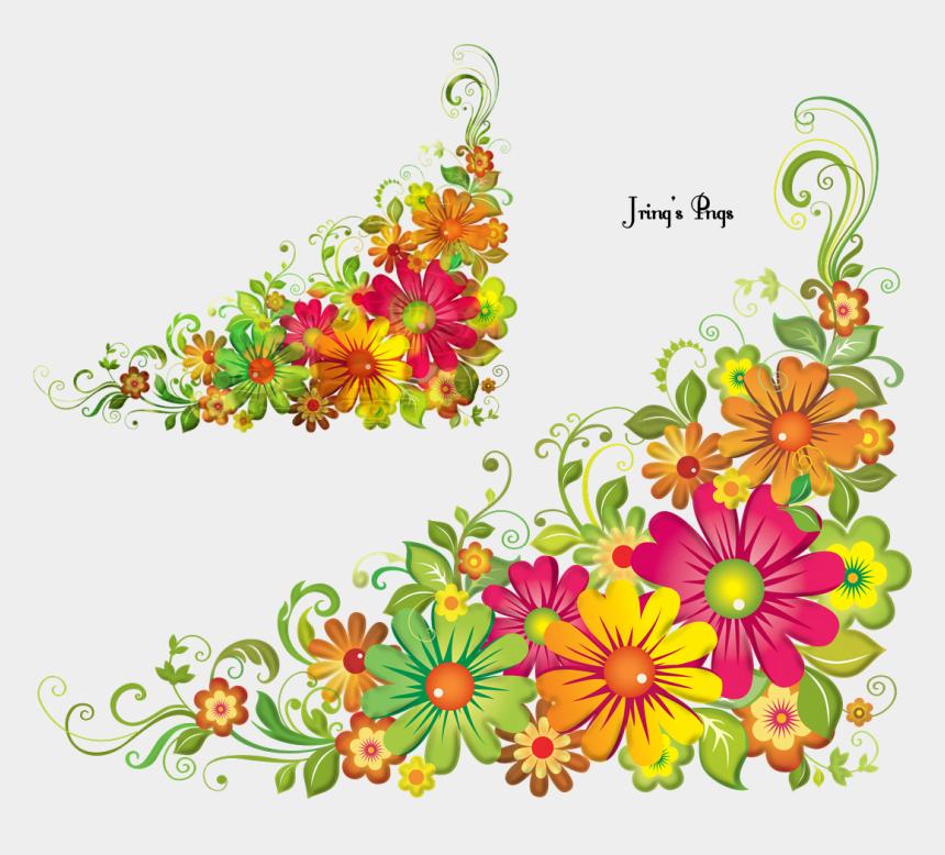 mexican flower clipart, Cartoons - Clip Art Flowers Border Png