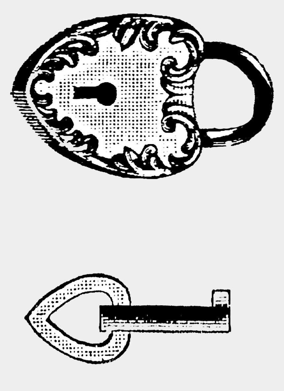 heart skeleton key clipart, Cartoons - Keys Transparent Victorian - Victorian Key Lock Art