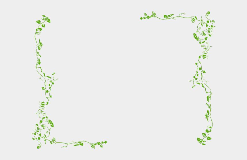 azalea clipart, Cartoons - Bushes Clipart Banner - Green Floral Border Png