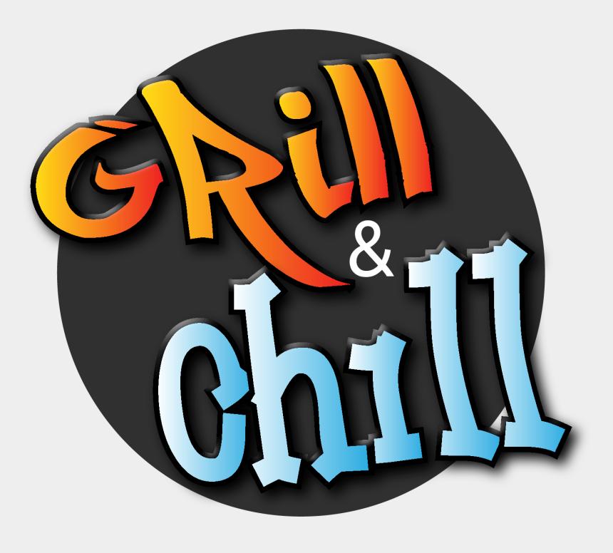 summer grilling clipart, Cartoons - Grill Clipart Chill - Illustration