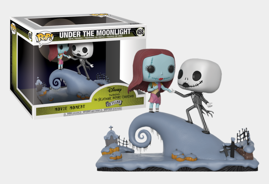 jack and sally clipart, Cartoons - The Nightmare Before Christmas Jack And Sally Under - Nightmare Before Christmas Movie Moments Pop