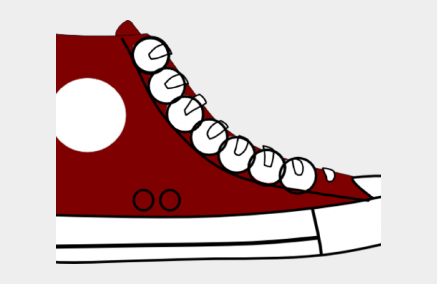 accessories clipart, Cartoons - Small Accessories Cliparts - Red Pete The Cat Shoe