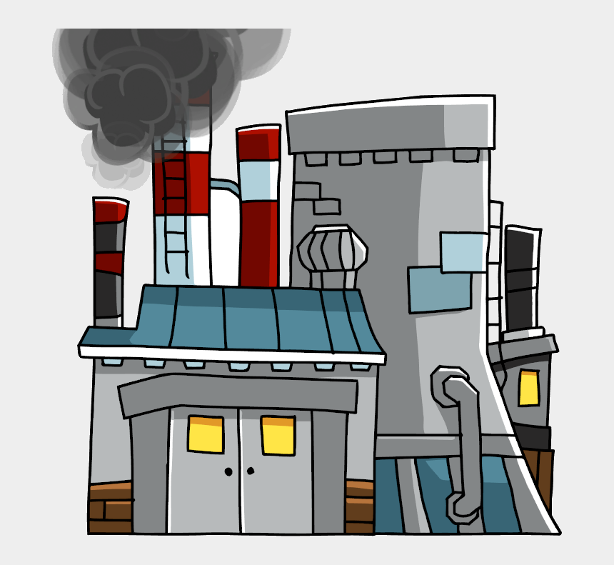 nuclear power plant clipart, Cartoons - Nuclear Reactor Su - Power Plant Scribblenauts