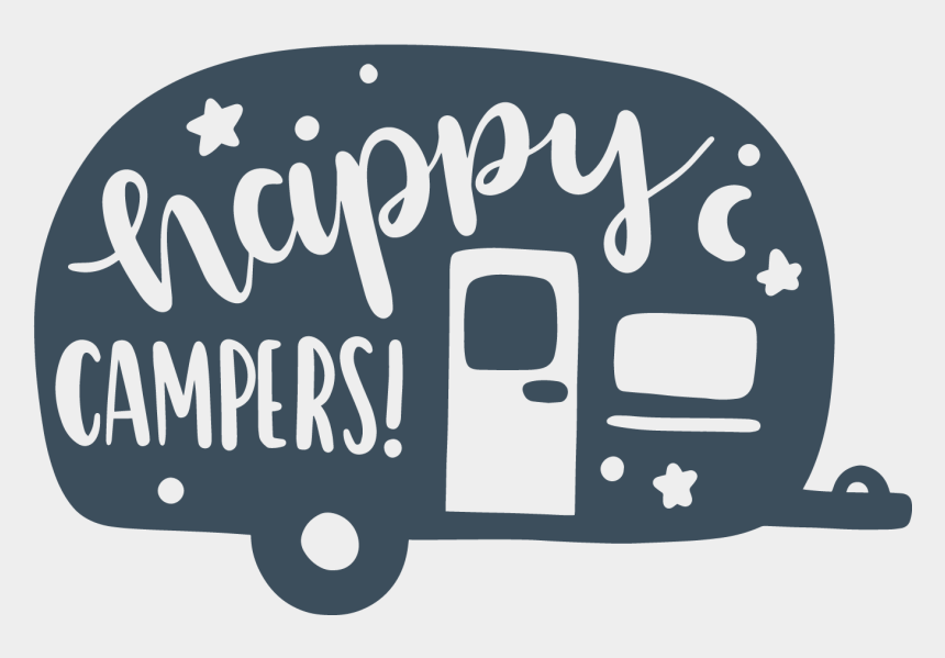 happy camper clipart, Cartoons - Rv Svg Cricut - Happy Camper Svg Free