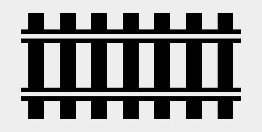 railroad track clipart, Cartoons - Vector Rails Tracks - Railway Line Icon Png