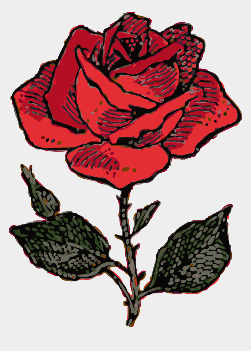 long stem rose clipart, Cartoons - Rose Clip Art Free Clipart Images - Coat Of Arms Rose
