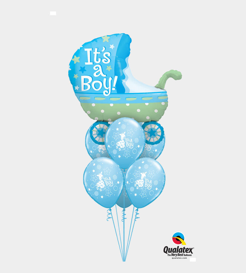 its a boy clipart, Cartoons - Clipart Balloon Baby Boy - Baby Boy Balloons