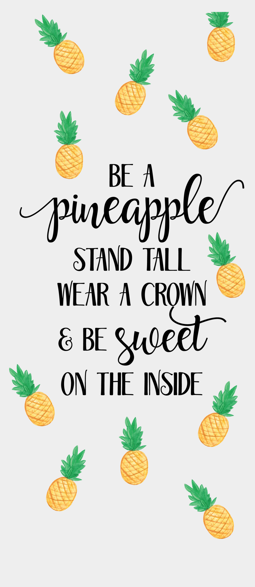 quote clipart, Cartoons - A - Pineapple Wallpaper Quotes