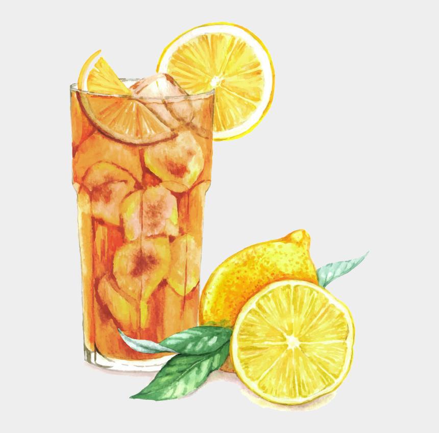lemonade pitcher clipart, Cartoons - Lemon Clipart, Tea Illustration, Watercolor Illustration, - Long Island Iced Tea Painting
