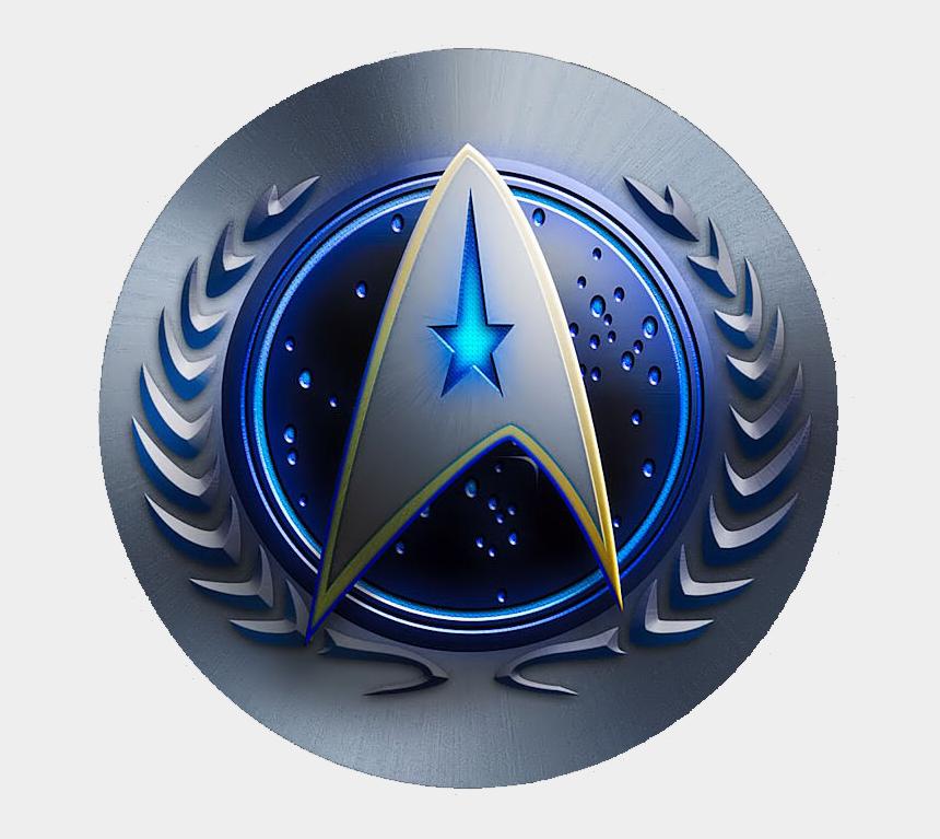 sheriff badges clipart, Cartoons - Federation Star Trek