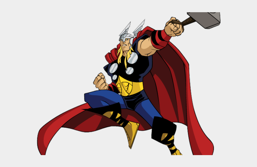avengers clipart, Cartoons - Avengers Clipart Happy Birthday - Avenger Earth's Mightiest Heroes Png