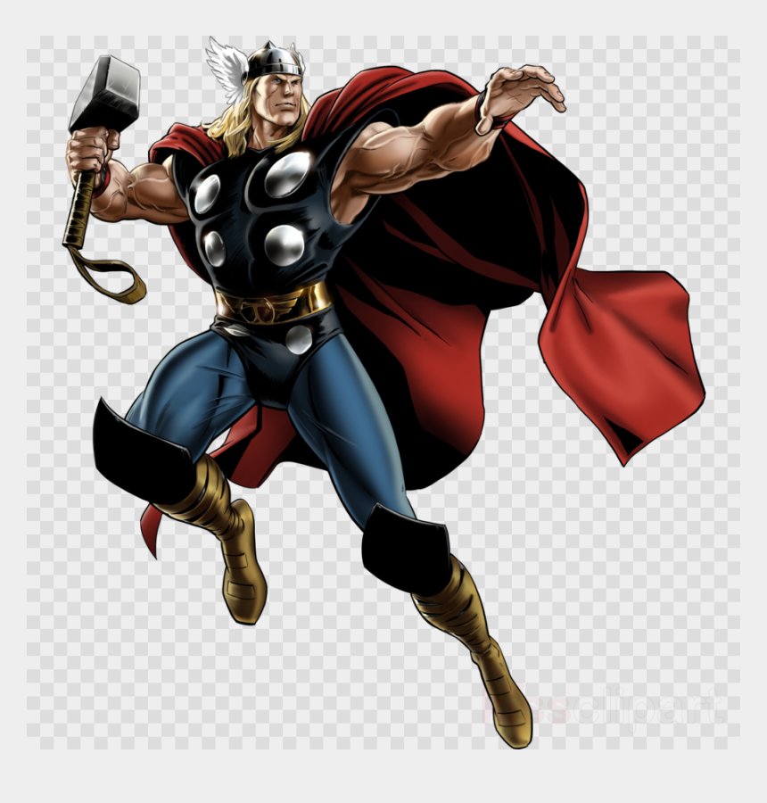 avengers clipart, Cartoons - Thor Marvel Comics Clipart Thor The Avengers Iron Man - Marvel Thor