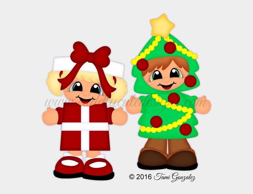 christmas around the world clipart, Cartoons - Present N Tree - Christmas Day