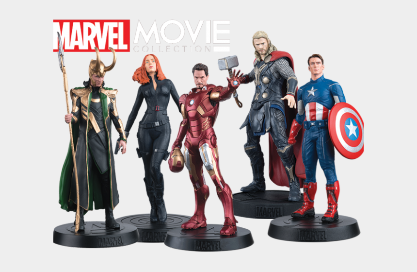 avengers clipart, Cartoons - Avengers Movie Png - Marvel Movie Figurine Collection