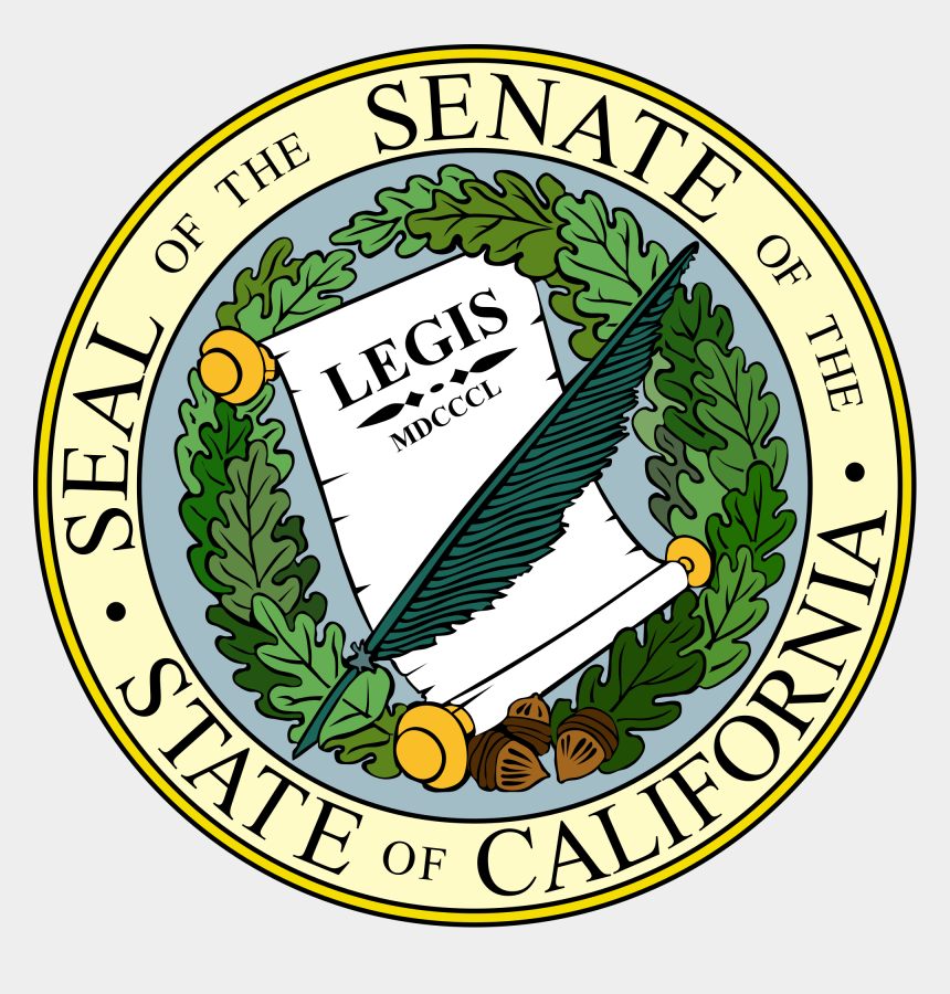 california state clipart, Cartoons - State Of California Seal Png - Seal Of The California State Senate