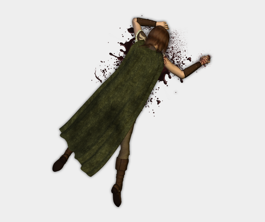 dead man clipart, Cartoons - Dead Body Token , Png Download - Dead Bodies Png