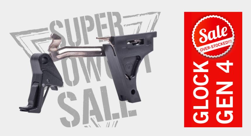 glock clipart, Cartoons - Cmc Glock Trigger 9mm Gen - Airsoft Gun