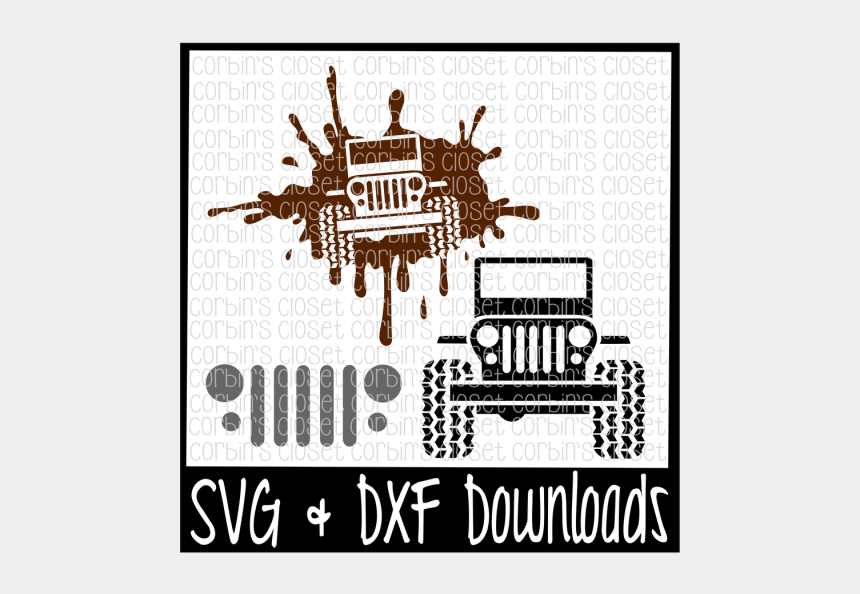 off road jeep clipart, Cartoons - Off Road * Jeep * Cutting File - Jeep