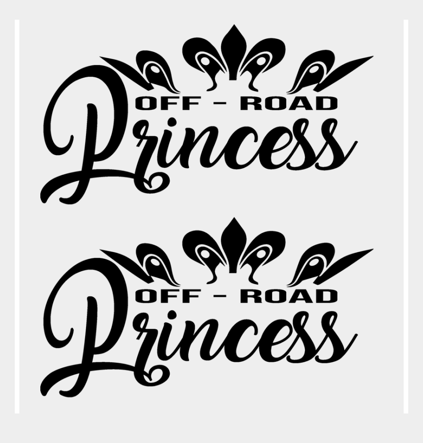 off road jeep clipart, Cartoons - Ford Gmc Chevy Dodge Jeep Toyota 4 X 4 Off Road Princess - Calligraphy