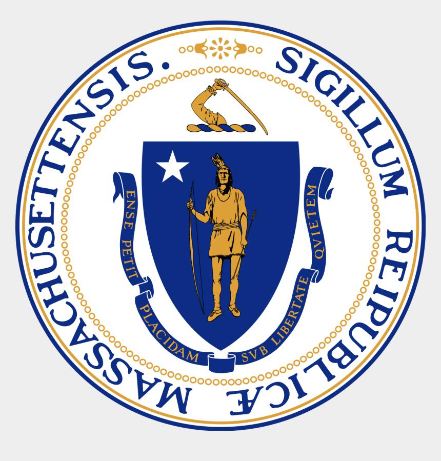 texas symbols clipart, Cartoons - Massachusetts State Seal