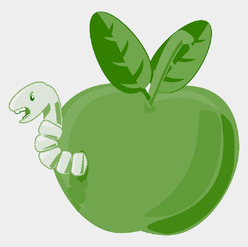 apple clipart transparent background, Cartoons - Red, Green, Apple, Food, Fruit, Small, Apples, Bitten - Cartoon Apple