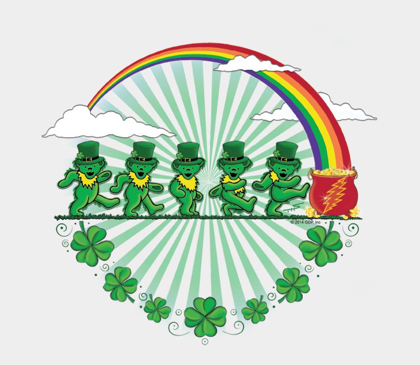 grateful clipart, Cartoons - Grateful Dead St Patrick's - Saint Patrick's Day Grateful Dead