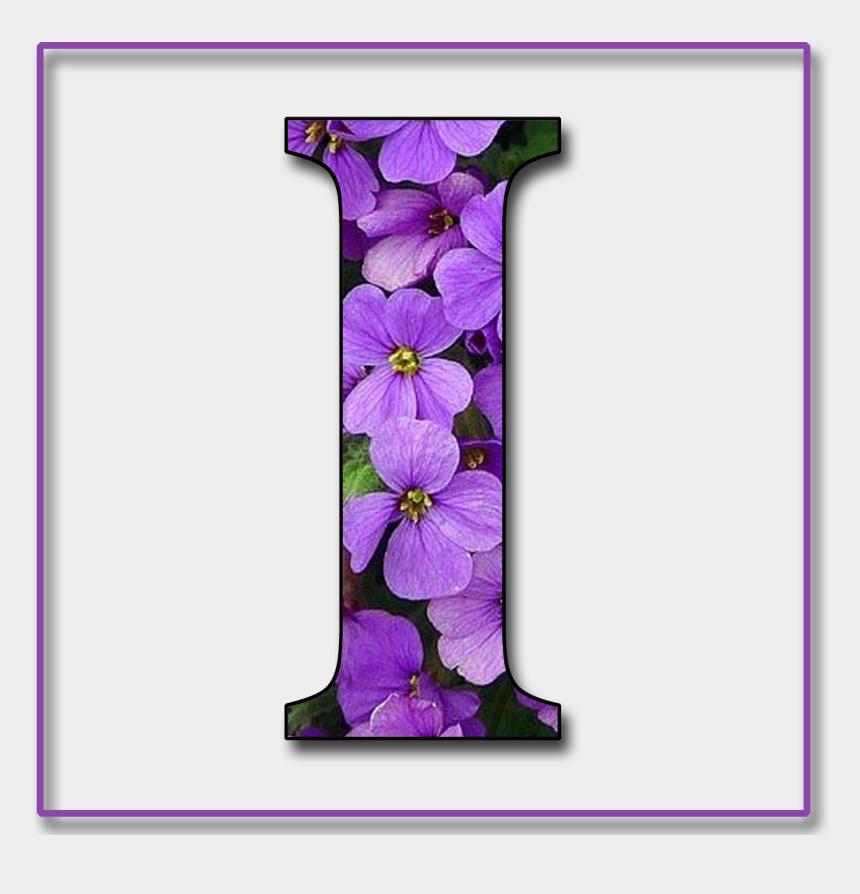 alphabet blocks clipart, Cartoons - Flower Alphabet, Alphabet Blocks, Alphabet And Numbers, - Letter I In Purple Flowers