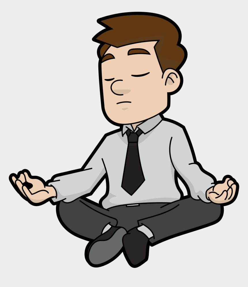 17 clipart, Cartoons - Commons Clipart 4 Person - Cartoon Meditating