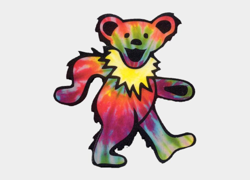 grateful clipart, Cartoons - Tumblr Mi Xxogzaa R Who Image - Grateful Dead Bear Tie Dye
