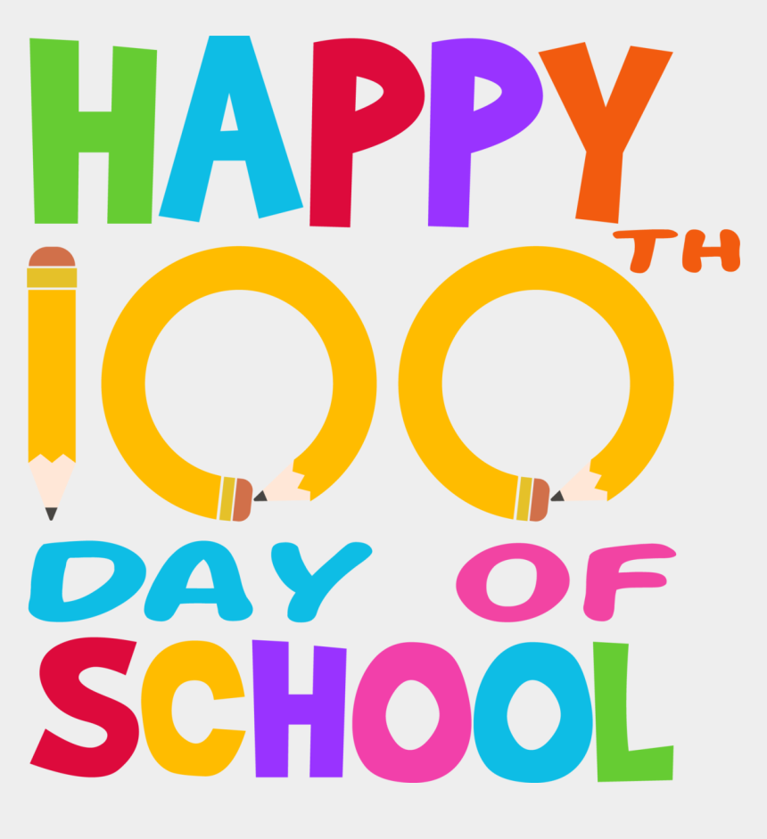 Happy 100th Day Of School, Cliparts & Cartoons - Jing.fm (860 x 941 Pixel)
