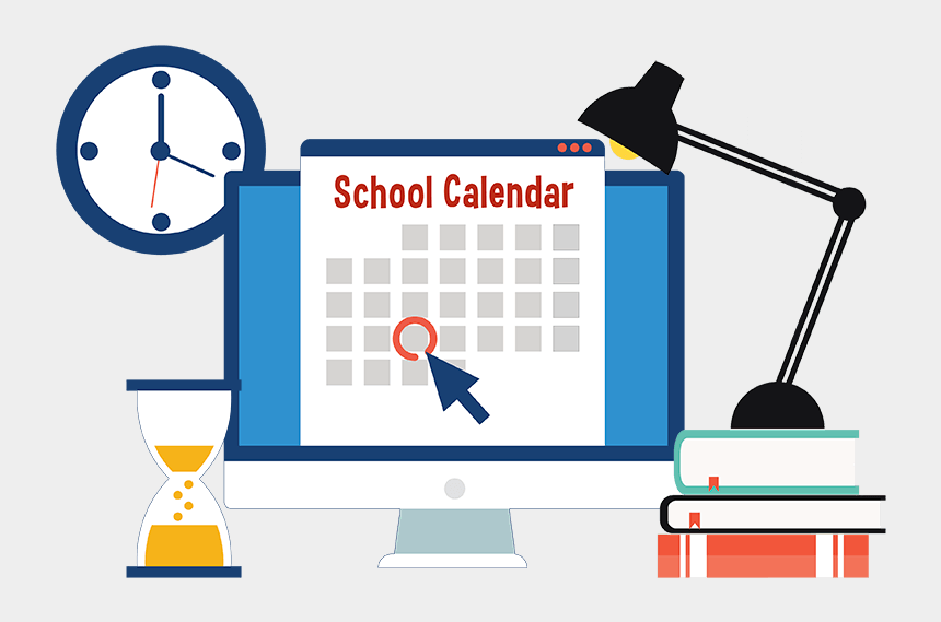 last day of school clipart, Cartoons - Fy20 School Calendar - Calendar Deadline Clip Art