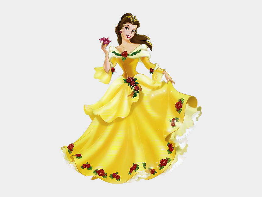 Pink Dress Clipart Belle , Beautiful Drawing For Princess