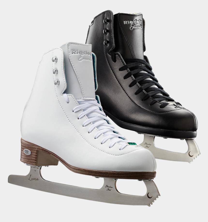 hockey skates clipart, Cartoons - Ice Skate Png - Riedell Emerald