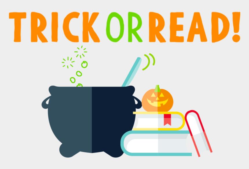 read books clipart, Cartoons - Halloween Header V3 - Harpercollins Children's Books Group