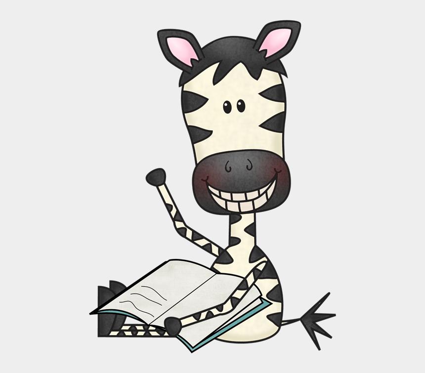 Reading Fun - Zebra Reading Clip Art, Cliparts & Cartoons ...