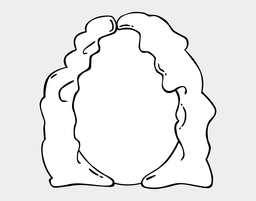 head outline clipart, Cartoons - Empty Face Colouring Pages - Mother Clipart Black And White
