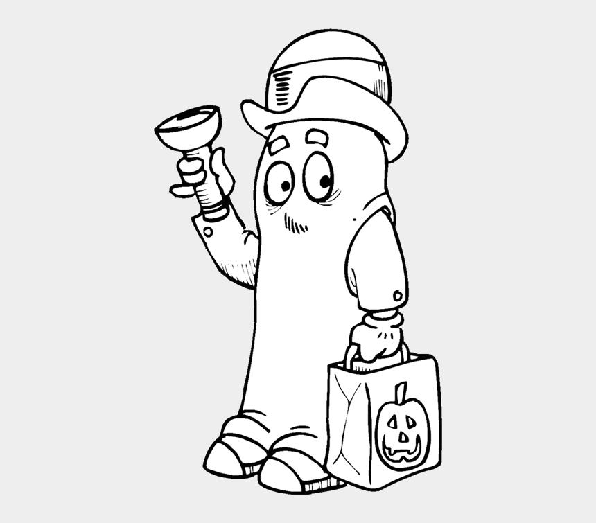 kids trick or treating clipart, Cartoons - More Kids Fun - Illustration