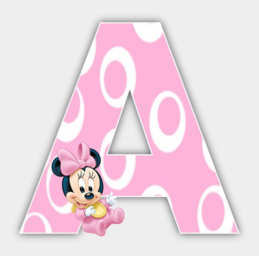 minnie mouse 1st birthday clipart, Cartoons - Baby Minnie Mouse 1st Birthday Party Alphabet & Numbers - Baby Minnie Mouse Alphabet