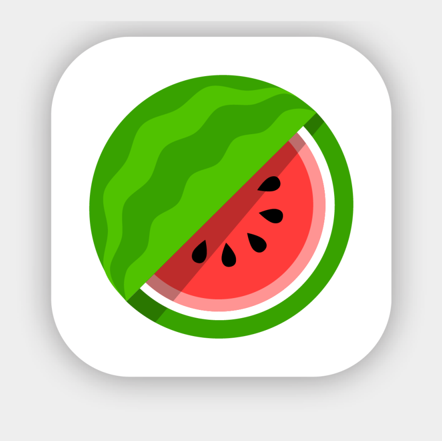 school cafeteria clipart, Cartoons - Cafeteria Clipart Food Server - Watermelon Icon