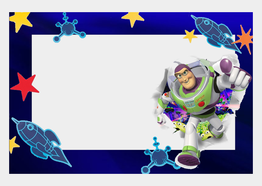 buzz lightyear clipart, Cartoons - Buzz Light Year Free Printable Invitation, Photo Frame - Buzz Lightyear Frame