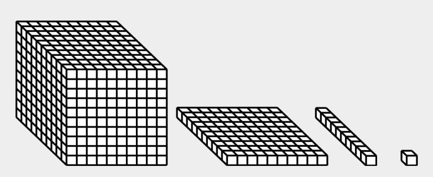 base ten blocks clipart, Cartoons - I Work As A Mathematics Tutor With K-12 Kids Of All - 10 X 10 X 10 Cube