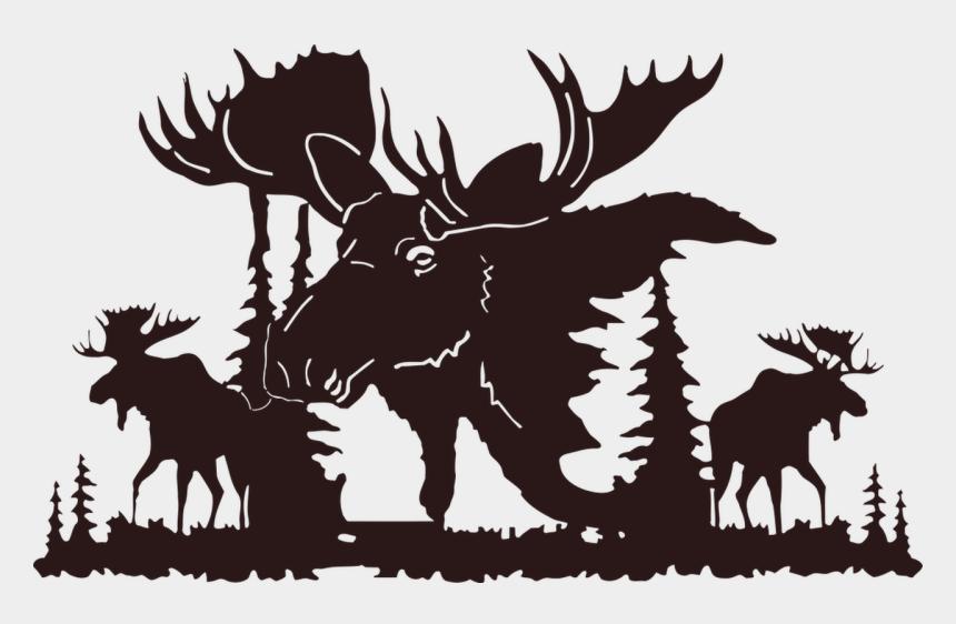 moose clip art, Cartoons - Hd Picsonmetal - Com - Moose - Moose Metal Wall Art - Moose Metal Wall Art