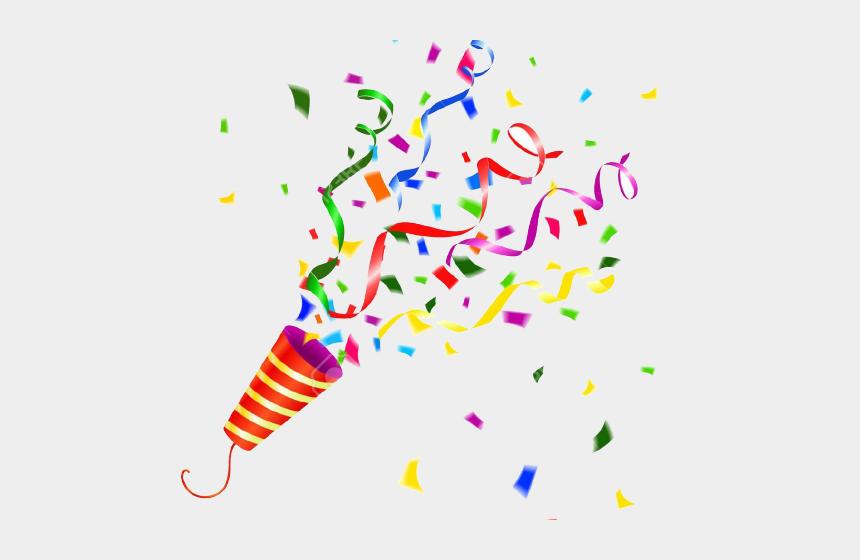 party clip art, Cartoons - Clipart Wallpaper Blink - Confetti Party Horn Png