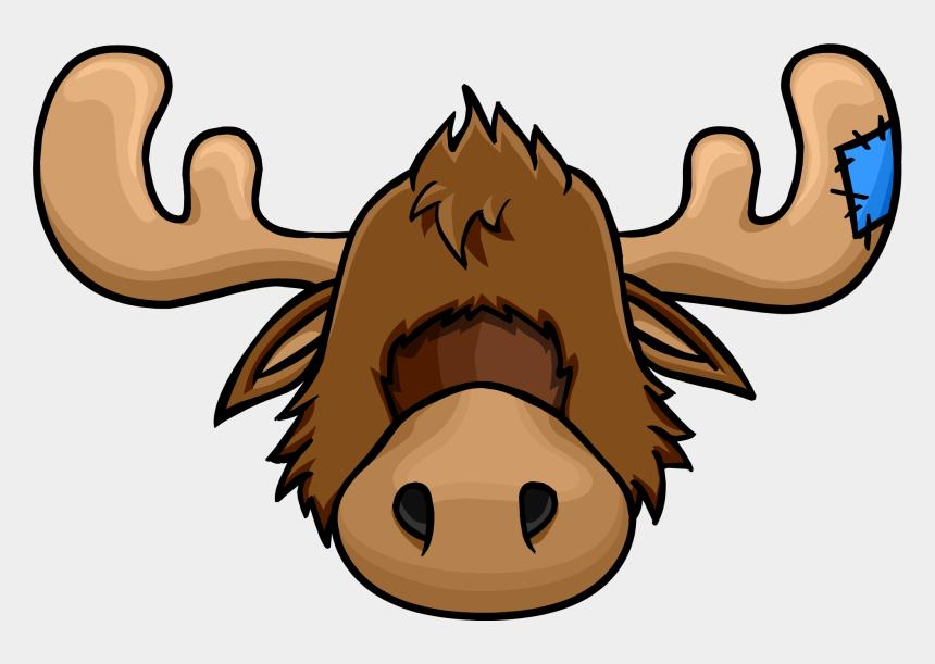 moose clip art, Cartoons - Zeus The Moose Head - Club Penguin Moose