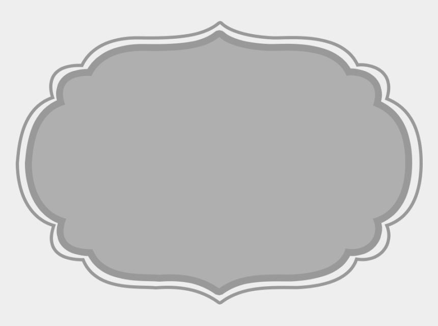 frames clipart, Cartoons - Grey Clipart Frame - Brown Label Frame Png