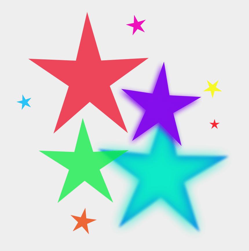 christmas star clip art, Cartoons - Rainbow Star Clip Art