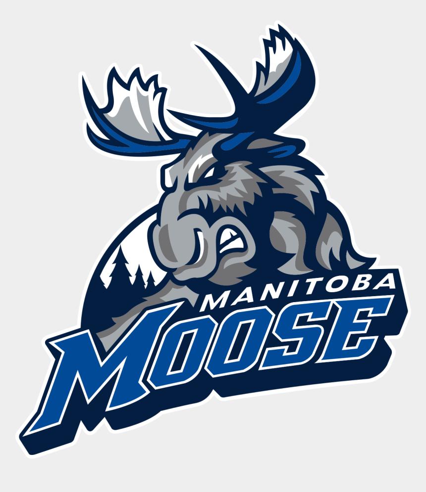 moose clip art, Cartoons - Download - Manitoba Moose Logo